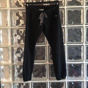 PINK Victoria's Secret Pants & Jumpsuits - Victoria's Secret Pink Cropped Sweats Black
